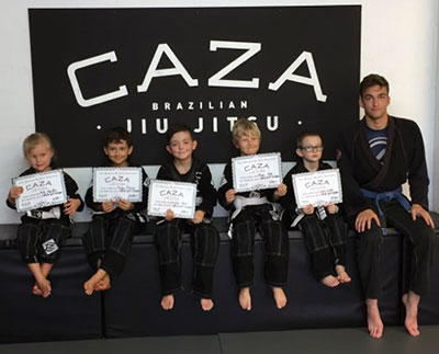 Little Kids BJJ Grading December 2017