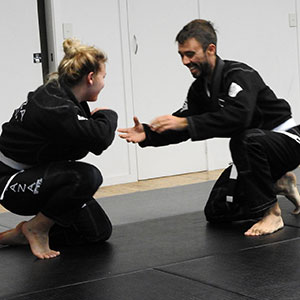 What is a first lesson like at CAZA BJJ?