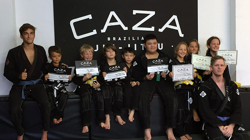 CAZA BJJ Kids Summer Camp January 2018