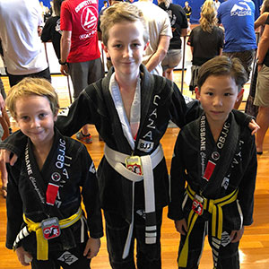 CAZA Kids at the 2018 Brisbane Championship