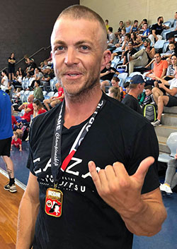 Shane Powell at the 2018 Brisbane Championship