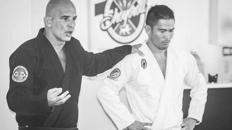 Rey Diogo with Yoshi Hasegawa