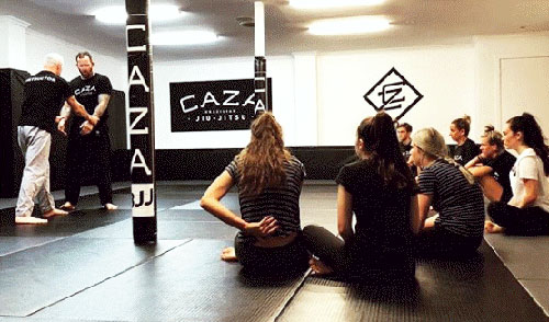 Womens self-defence class