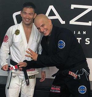 Yoshi Hasegawa made three stripe blackbelt