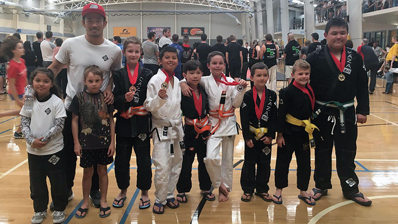 CAZA BJJ Kids at the 2018 Caloundra Open