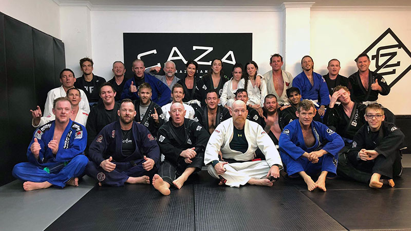 CAZA BJJ Kangeiko 2018 Day One