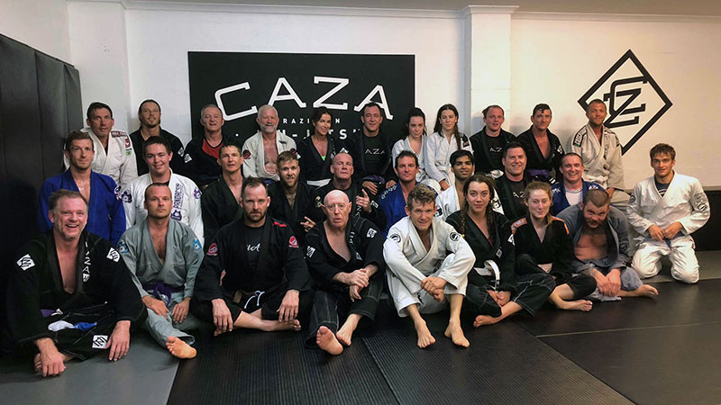 CAZA BJJ Kangeiko 2018 Day Two
