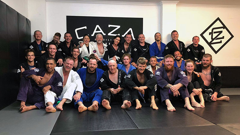 CAZA BJJ Kangeiko 2018 Day Three