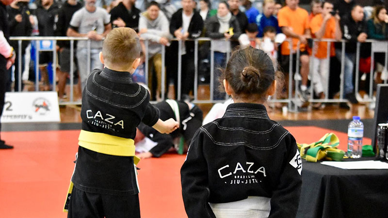 CAZA BJJ Kids at the 2018 QLD State Titles
