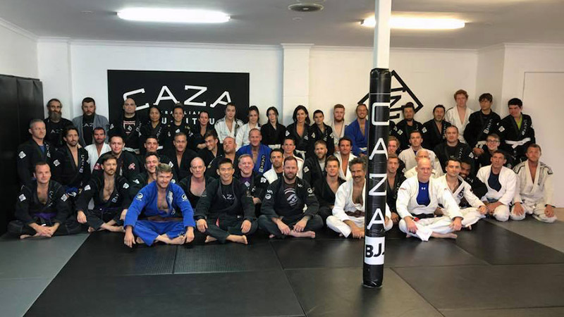 CAZA BJJ First Adults Grading For 2018