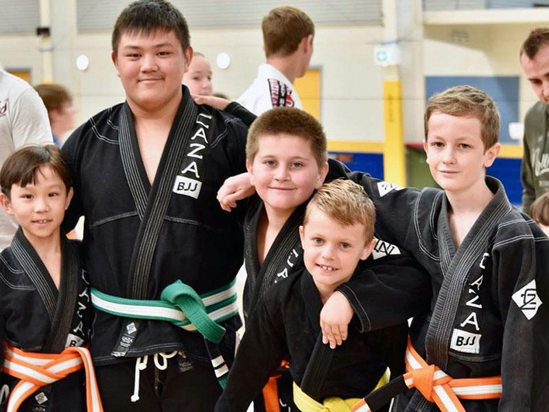 CAZA Kids Brazilian Jiu-Jitsu