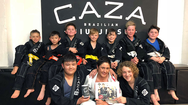 CAZA BJJ Kids Team Fundraiser 2018