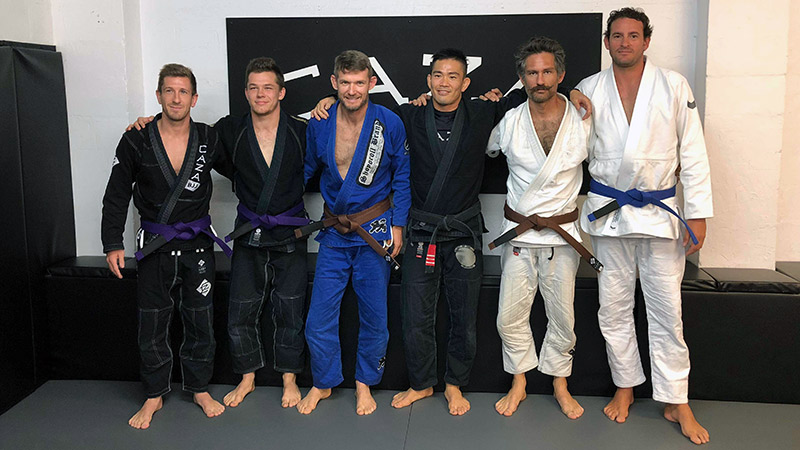 Promotions CAZA BJJ Grading June 2018