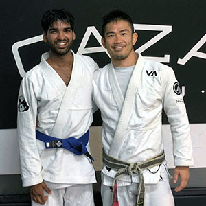 Sunil Rajput Blue Belt