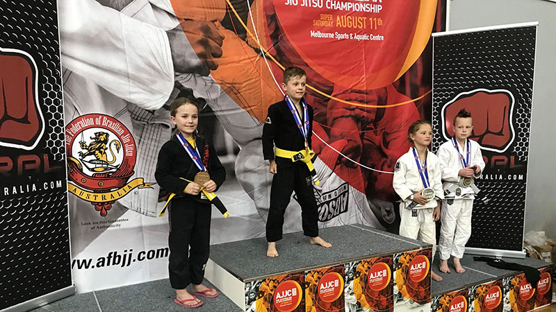 Daniel Svoboda National BJJ Champion 2018