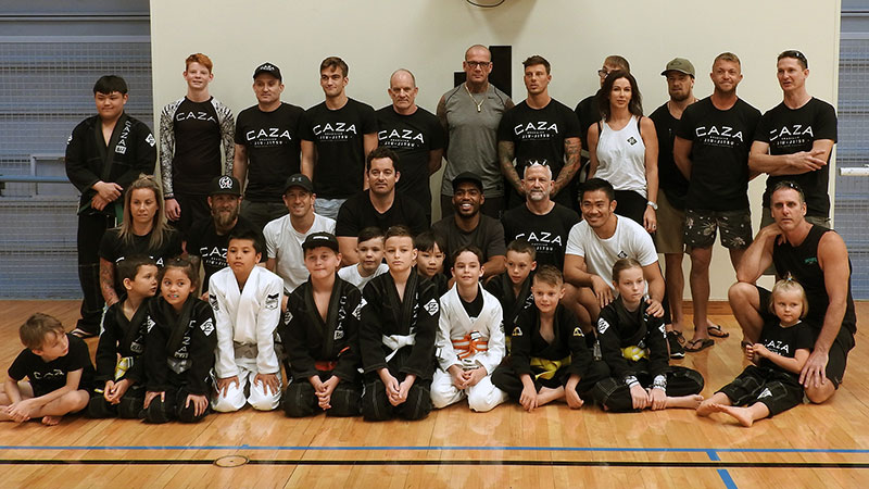 CAZA Team at the 2018 Sunshine Coast BJJ Championship