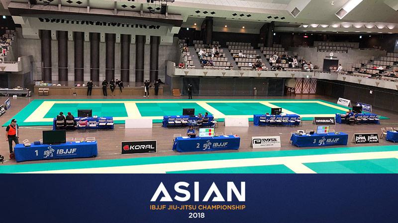 2018 IBJJF Asian Championship Tokyo Japan