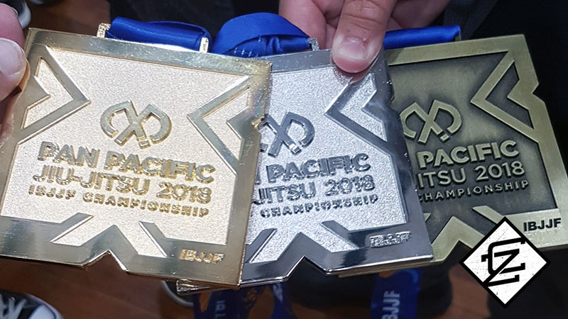 2018 CAZA BJJ Pan-Pacs Medals