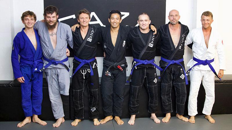 CAZA BJJ Grading 2 For 2018 Blue Belts