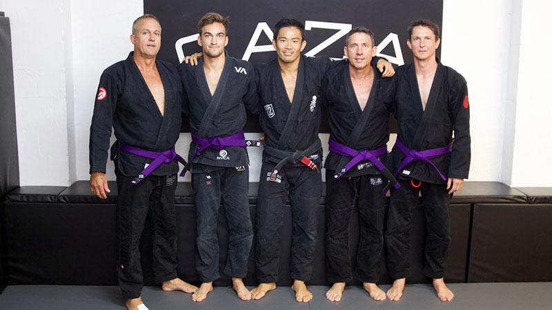 CAZA BJJ Grading 2 For 2018 Purple Belts