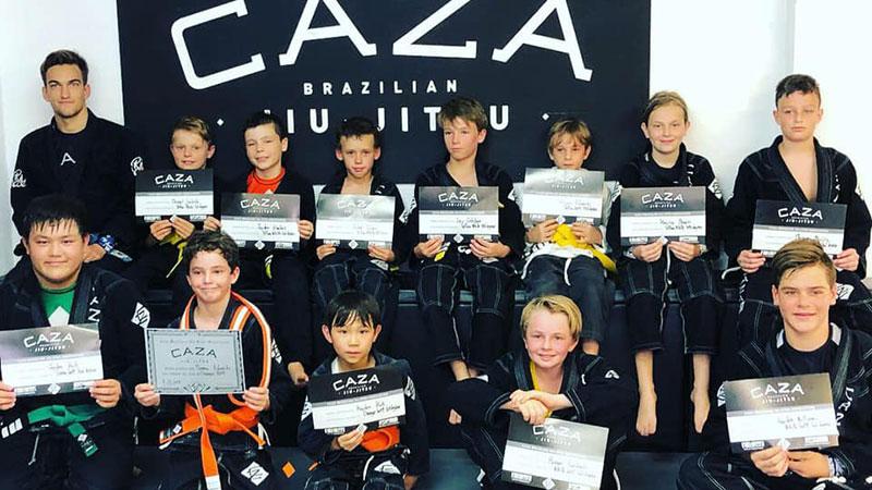 Last CAZA Older Kids Grading 2018