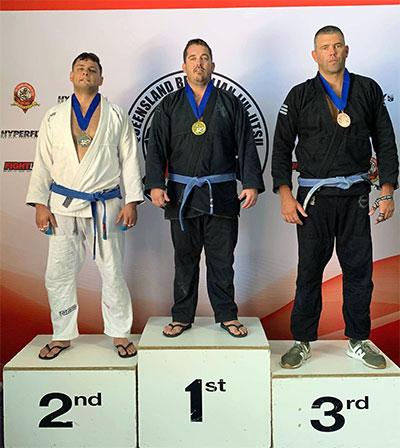 Dean Winning Gold