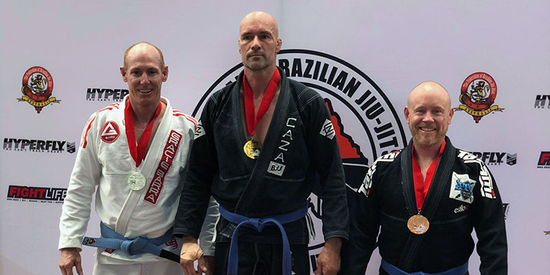 Dean Milbank's First BJJ Gold