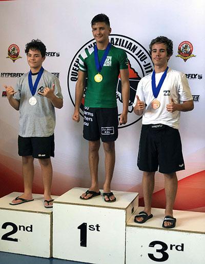Marco Winning Gold