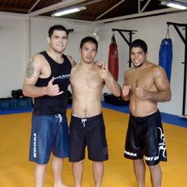 Robert Drysdale, Yoshi Hasegawa & André Galvão