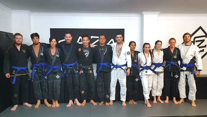 CAZA Grading Day 1 For 2019 Blue Belts