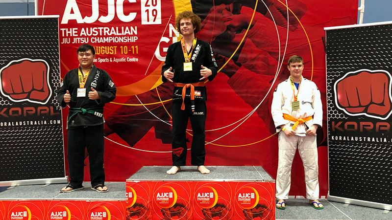 Jayden At The 2019 Australian BJJ National Championship