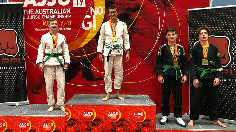 Marco At The 2019 Australian BJJ National Championship