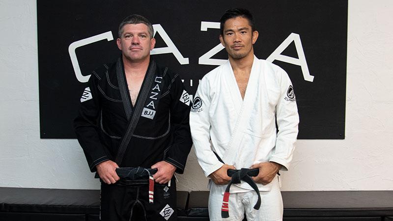 Professors Andrew Bailey & Yoshi Hasegawa