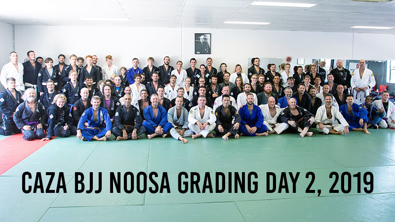 CAZA Brazilian Jiu-Jitsu Noosa Grading Day 2, 2019