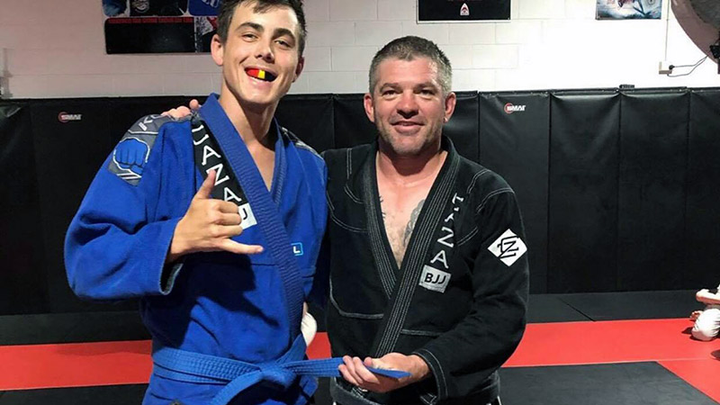 Ryan Leavey Promoted to Blue Belt