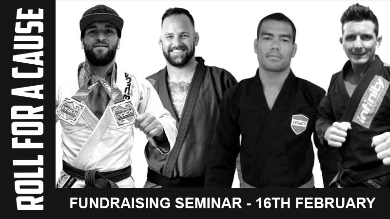 Roll For A Cause BJJ Fundraising Seminar