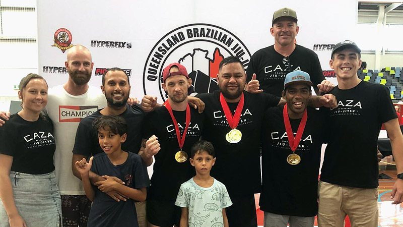 CAZA BJJ at the 2020 South East Queensland Championship