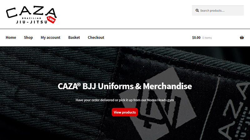 CAZA BJJ Shop Now Live