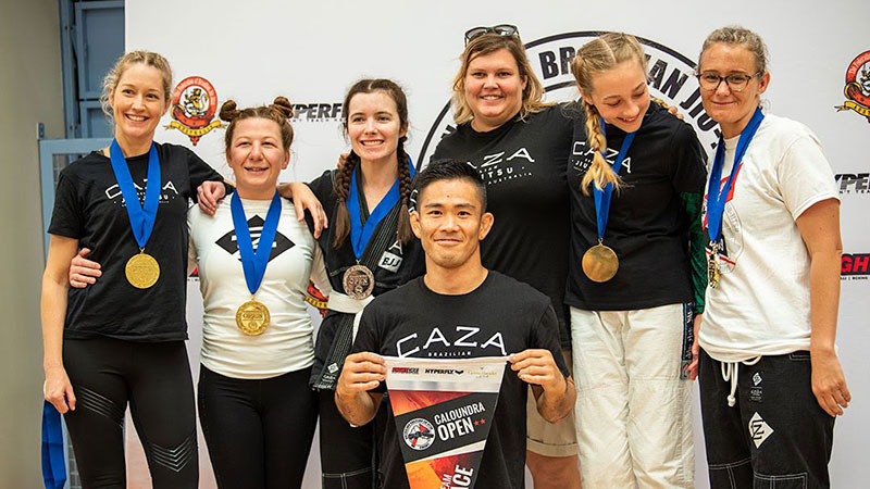 CAZA BJJ Women's Comp Team
