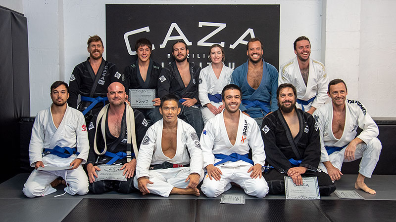 CAZA BJJ December 2020 Grading Blue Belts