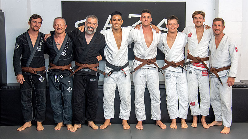 CAZA BJJ December 2020 Grading Brown Belts