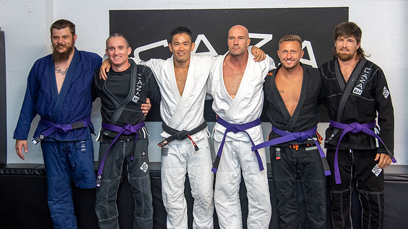 CAZA BJJ December 2020 Grading Purple Belts