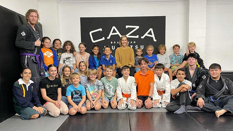 CAZA Kids' Sports Psychologist Visit