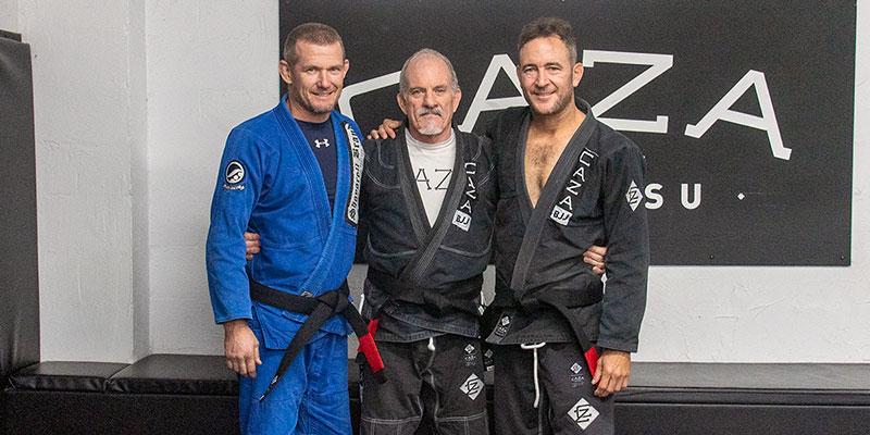 New CAZA BJJ Black Belts