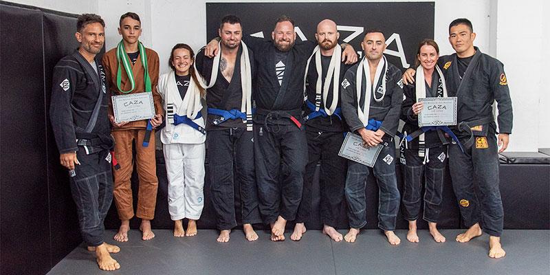 New CAZA BJJ Blue Belts